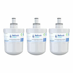 Refresh Replacement Water Filter - Fits Samsung Wf-289 Refrigerators 3 Pack