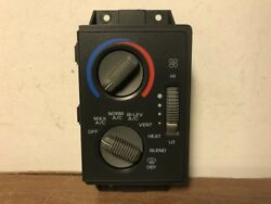 1995 CHEVROLET BLAZER CLIMATE CONTROL UNIT **NOT WORKING PARTS ONLY**