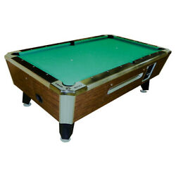Valley Panther Zd-11 Coin-op Pool Table 93- Highland Maple