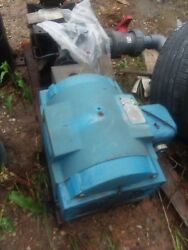 75 Hp Electric Motor Hooked To 75 Hp Water Pump