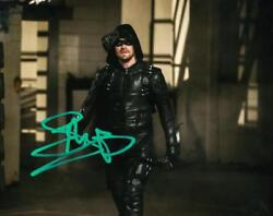 Stephen Amell Signed 8x10 Photo Authentic Autograph Cw Green Arrow Coa B