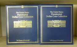 Volumes 1 And 2 The United States Presidential Dollar Coin Collection