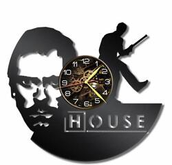 Dr. House Watch Vinyl Record Wall Clock Living Room Home Decor Art Gift Idea New