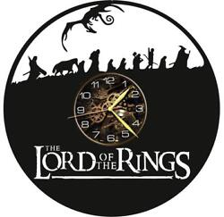 Lord of the Rings Vinyl Record Wall Clock Living Room Home Decor Art Gift Idea