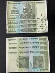Zimbabwe 10 Trillion Banknote X 8 Pieces Free Shipping In Us