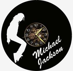 Michael Jackson Watch Vinyl Record Wall Clock Living Room Home Decor Gift Idea