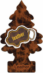 Little Trees Leather Scent 12 Pack Air Freshener