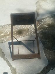 Vintage Rare 1940and039s Lauson Sport King Outboard Motor Stand. Rare. Oem Stock.