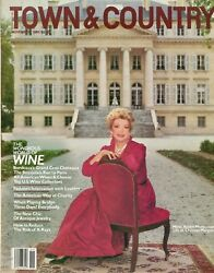 Town And Country Magazine Nov 1981 The World Of Wine Chateau Margaux H-2-3