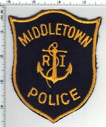 Middletown Police Rhode Island 1st Issue Shoulder Patch