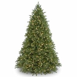 National Tree Company 9and039 Jersey Fraser Artificial Christmas Tree Pre Lit Clear