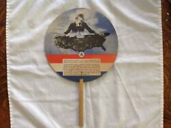 New England Telephone And Telegraph Co. Advertising Fan
