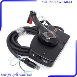 Right Side Motor Outboard 8Pin Mount Remote Control Box Cable For Mercury Well