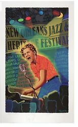 2007 New Orleans, REMARQUE Jazz Fest Poster, by Francis X. Pavy.