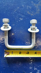 2galvanized Hot Dipped U Bolts For Bunk Brackets For Boat Trailers W/hardware