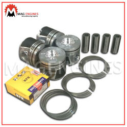 Piston And Ring Set Nissan Yd25 Dci For D40 Navara R51 Pathfinder 2.5 Ltr 06-12