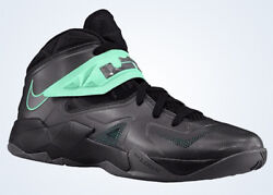 Nike Zoom Soldier Vii Colorsblack/glow-green Style599264002 Sizes11 And 11.5