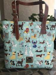 NWT Disney Dogs Dooney & Bourke Tote Handbag PERFECT PLACEMENT