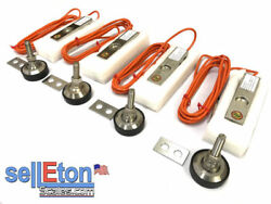 Gx-1-ssh-4k Package Of 4 Shear Beam Load Cell Stainless Steel,seald,4000lb,ntep