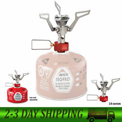PocketRocket 2 Stove Silver Ultralight Backpacking Camping and Travel Stove New