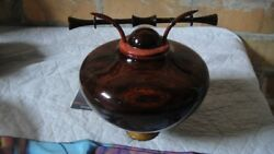 Beautiful Wood Turned Vase Signed And Dated By The Artist Matthew Hatala