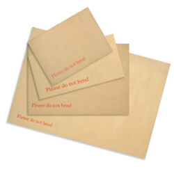 Manilla Brown Board Backed Envelopes Quality Self Seal C3 C4 C5 C6 Dl Mailer