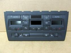 02-05 Audi A4 S4 Generation 2  AC AC Heater Climate Control Panel Heated Seats