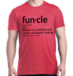 Fun-cle T-Shirt Funny Gift for Uncle Funcle Definition Fun Best Uncle To Be Tees
