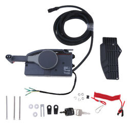 PUSH Throttle Outboard Remote Control Box for Yamaha Side Mount 10 Pin Cable