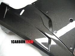 Ducati 848 1098 1198 Evo Carbon Fiber Front Side Fairings And Belly Panels Kit