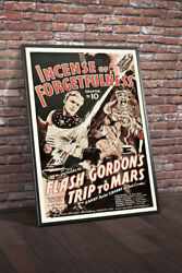 Flash Gordons Trip To Mars 1938 Chapter 10 Incense Of Forgetfulness Movie Pos...