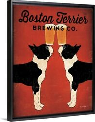 Boston Terrier Brewing Co Edge Frame