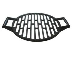 Cast Iron Grid Pan Grill Cooking Pot Durable Cookware Kitchen Saucepan Tempered