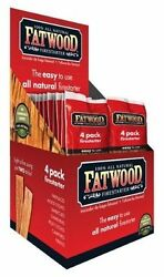 26 Fatwood Fireplace Barbecue Wood Stove Charcoal 4 Stick Fire Starter