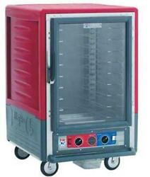 Metro C535-hfc-l 1/2 Height Heated Holding Cabinet W/ Lip Load Pan Slides