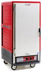 Metro C537-hfs-4 3/4 Height Heated Holding Cabinet W/ Fixed Wire Pan Slides