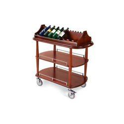 Lakeside 70516 21-5/8dx43-3/8wx41-3/8h Spice Wine Cart