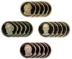 2010 -s Presidential Proof Dollar Roll 20 Us Coins Buchanan Lincoln Fillmore Pi