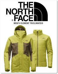 North Face Mens Clement Tri Climate Jacket XL NEW SEALED AUTHENTIC!  RARE COLOR!