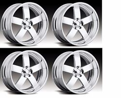 17 Pro Wheels Mag Staggered Rims Billet Forged Intro Boyd Gm Chevy Ford Mopar