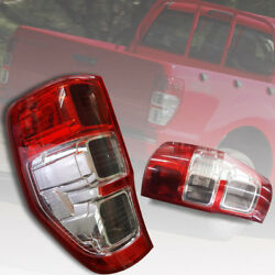 Red Lens Tail Light Rear Lamp For Ford Ranger T6 Mk1 Mk2 Px2 Xlt 2012-2018