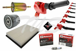 Tune Up Kit 1998-2011 Mercury Grand Marquis High Performance Ignition Coil Dg508
