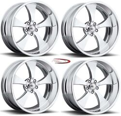 18 Pro Wheels Forged Billet Rims Jet V Intro Foose Us Mags Muscle Car Hot Rod