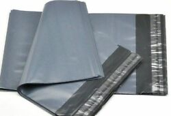 Grey Strong Packaging Polythene Mailing Clear Display Garment Bag All Sizes