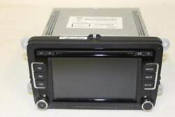 2010-2014 Volkswagen Jetta Cd 6-disc Mp3 Player Radio 1k0035180ac Oem Rebiggs