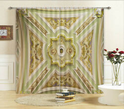 Odd Pattern Template 3d Curtains Blockout Photo Printing Curtains Drape Fabric