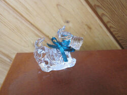 PRINCESS HOUSE LEAD CRYSTAL SCOTTIE DOG  ADORABLE! MADE IN GERMANY