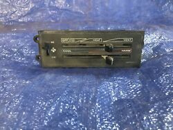 87-95 Jeep Wrangler YJ Factory Heater Control Defrost Fan Switch