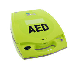 Zoll Aed Fully Automatic Plus Package Defibrillator Batteries, Pad, Carry Case