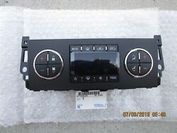12-13 CHEVY SILVERADO 1500 LT LTZ AC HEATER CLIMATE TEMPERATURE CONTROL OEM NEW
